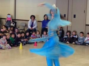 Solo dance routine preformed by Fatima.